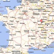 Situation Géographique de Besançon