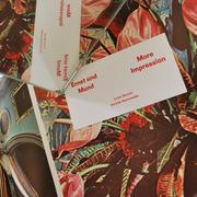 more impression, Reclamstrasse 51, Visitenkarten, Schrift, Grafik, Design, Schweiz, Kunst, Druckerei, Buch, nette Leute, Entmietung, Leipzig, Sachsen