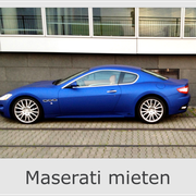 Maserati mieten