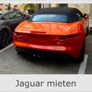 Jaguar mieten