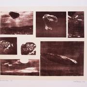 Das Fremde schaut vorbei, 2018, 56 x 78 cm; Ausstellung der Werkstätten des Künstlerhauses Stuttgart im Stuttgarter Rathaus 2018