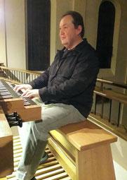 Organist Hans Zeinz
