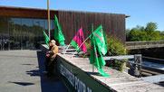 Manifestation ONF à Oloron avec la Sepanso 64 et l'ACCOB d'Oloron