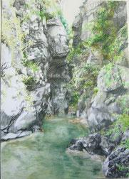 """""""Jabron"""", Zeichnung, A3, 2010, verkauft"""