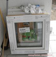Fenster für Holzhaus Gartenhaus Kunststoff