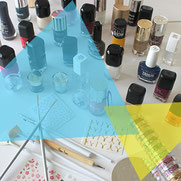 Atelier Nail Art sur ongles naturels