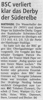 Buxtehuder Tageblatt vom 07.05.2014