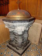 Fonts de l'église d'Acheux-en-Amiénois