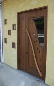 木 玄関ドア