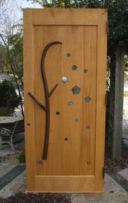 カフェ 木のドア