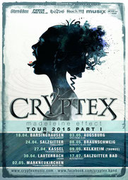 Cryptex Madeleine Effect Tour 2015
