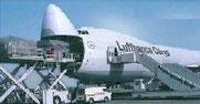 Lufthansa Cargo AG Frachmaschine