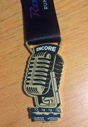 Encore Medal VR7 bis VR10