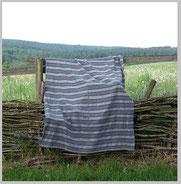 Handgewebte Decken in unterschiedlichen Größen