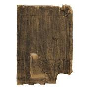 o.T., 30x20 cm, Kohle/Kreide auf Briefumschlag, 2016