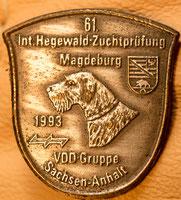 61. Hegewald-Zuchtprüfung 1993 in Magdeburg
