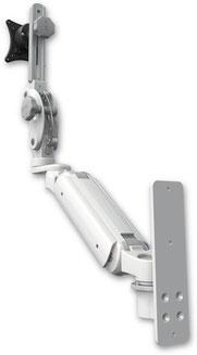 ウォールマウント 壁面固定 昇降式 ディスプレイ用 モニターアーム VESA:ASUL180P-W3