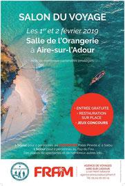 Salon du Voyage Aire Sur L'Adour 01 et 02 Février