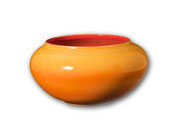 Bol naranja Ø 38 x 18 cm.
