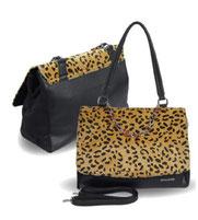 Handtasche Leoprint