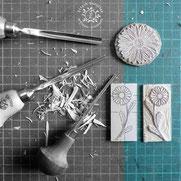 kitsc-paradise kp exposition encre de chine gravure gouge atelier