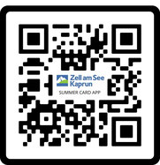 QR-Code for the Zell am See-Kaprun App