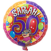 Folieballon Sarah Knalfeest € 4,25