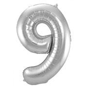 Folieballon Zilver 86 cm € 3,99