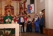 2010/11 Kirche - Fahnenweihe