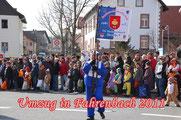 2010/11 Umzüge Fahrenbach u. Buchen