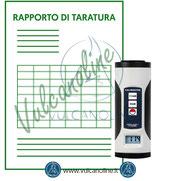 Rapporto di taratura per calibratore per fonometri