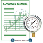 Taratura manometri
