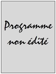 Programme  Club Bruges-PSG  2006-07