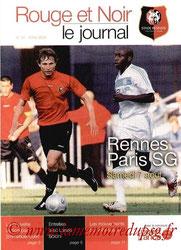 Programme  Rennes-PSG  2004-05