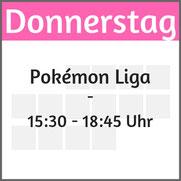 """Donnerstag: Pokemon Liga"""""""