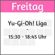 """Freitag: Yu-Gi-Oh! Liga"""""""