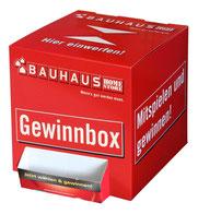 Losbox aus Pappe