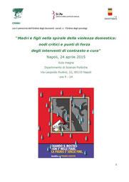 Madri e figli nella spirale della violenza domestica: nodi critici e punti di forza degli interventi di contrasto e cura