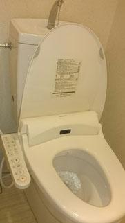 ウォッシュレット交換施工例① ウォッシュレットの水漏れ・ウォッシュレットの故障など、トイレのトラブルで困ったら、大阪・奈良の口コミ評判のいい水道屋【水道便利屋さん】まで、ご連絡ください!安心価格・作業前見積もり・確実な施工を心がけて営業しております。