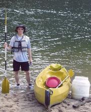 Quand il fait chaud et qu on loue un Canoë Kayak se protéger du soleil est primordial surtout en Ardèche