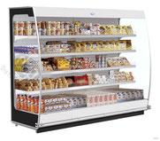 Vitrine réfrigérée produits laitiers bombée matériel cuisine professionnelles