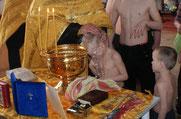 4 апреля 2013 г. Крещение в Азовском доме-интернате