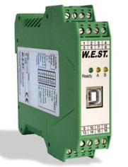 Druckregelmodul mit integriertem Leistungsverstärker und Inbetriebnahme-Assistenten