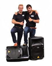 Das sind wir. Gründer: Lukas Hillen und Vladimir Glaas