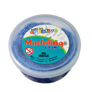 Modelliermasse blau