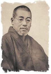 Eines der wenigen Bilder von Dr. Mikao Usui