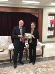 10.12.2018: Vizepräsidentin TIAN Yan (BPAFFC)
