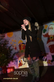 Sophia Venus / eventphoto-leo.de / Weihnachtsmarkt / Schlager / Live