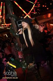 eventphoto-leo.de / Sophia Venus / Sängerin / Cottbus / Weihnachtsmarkt