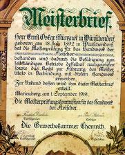 Bild: Teichler Wünschendorf Münzner 1919
